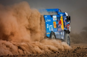 "The entire podium of the main rally raid ""Dakar"" went to Russia"