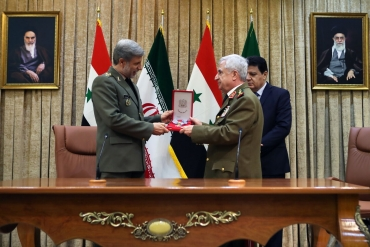Syria and Iran have signed a comprehensive agreement on military cooperation