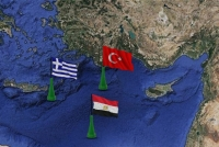 Egypt and Greece created in the rear of the Erdogan's anti-Turkish Alliance